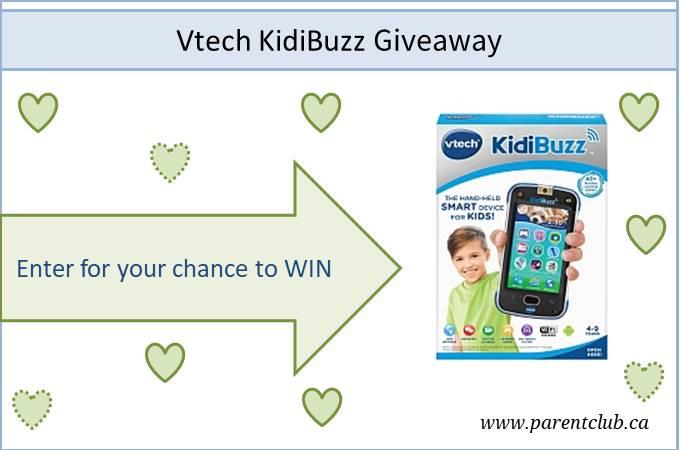 Vtech KidiBuzz Giveaway