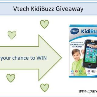 Vtech KidiBuzz Giveaway via www.parentclub.ca