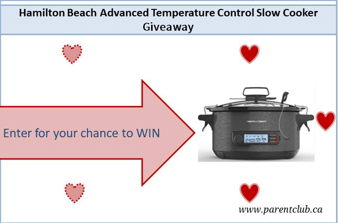 Hamilton Beach Advanced Temperature Control Slow Cooker Giveaway