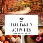 fun fall family activities via www.parentclub.ca