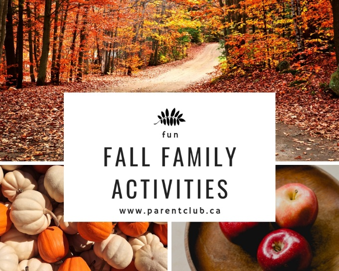fun fall family activities via www.parentclub.ca