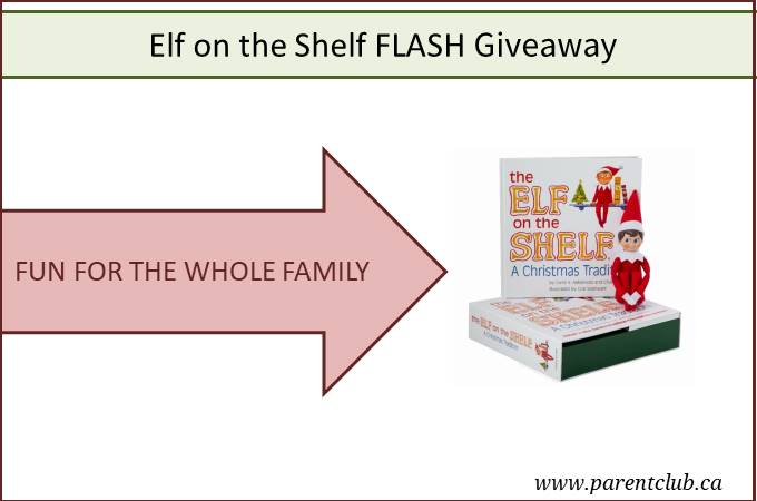 Elf on the Shelf FLASH Giveaway