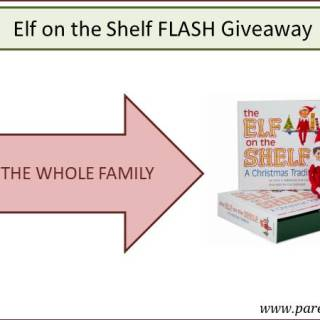ELF ON THE SHELF FLASH GIVEAWAY VIA WWW.PARENTCLUB.CA