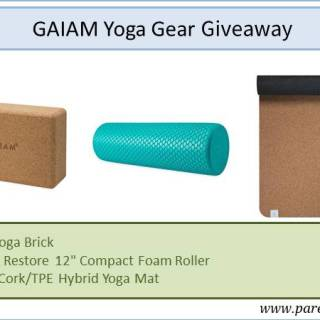 Gaiam Yoga Gear Giveaway via www.parentclub.ca