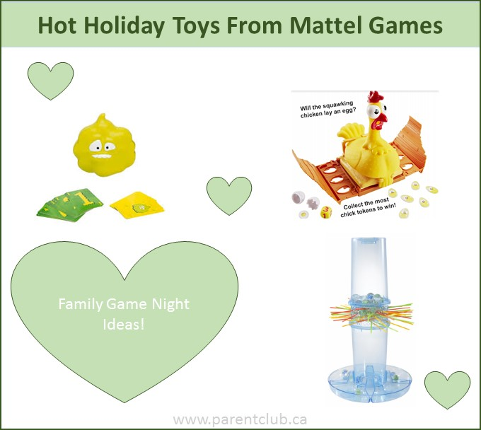 Hot Holiday Toys from Mattel via www.parentclub.ca