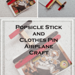 popsicle stick and clothes pin airplane craft via www.parentclub.ca