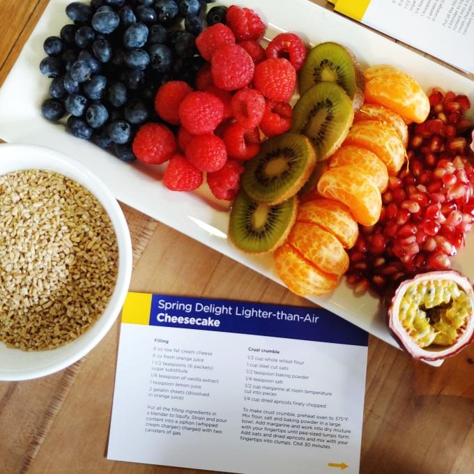 Lighter-than-Air-Cheesecake No Bake Recipe via www.parentclub.ca