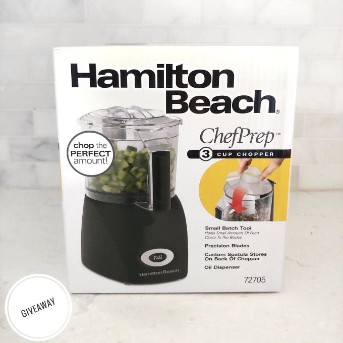 Hamilton-Beach ChefPrep 3 Cup Chopper Giveaway via www.parentclub.ca
