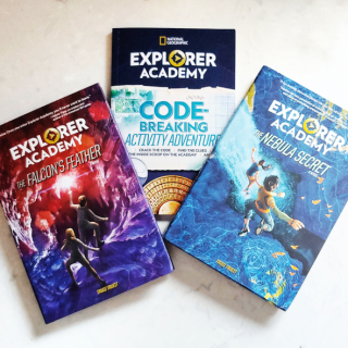 book giveaway explorer academy via www.parentclub.ca