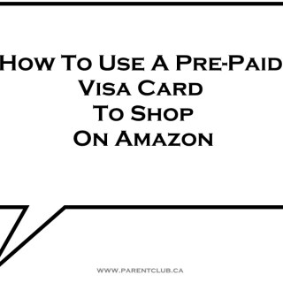 how to use a prepaid visa card to shop on amazon