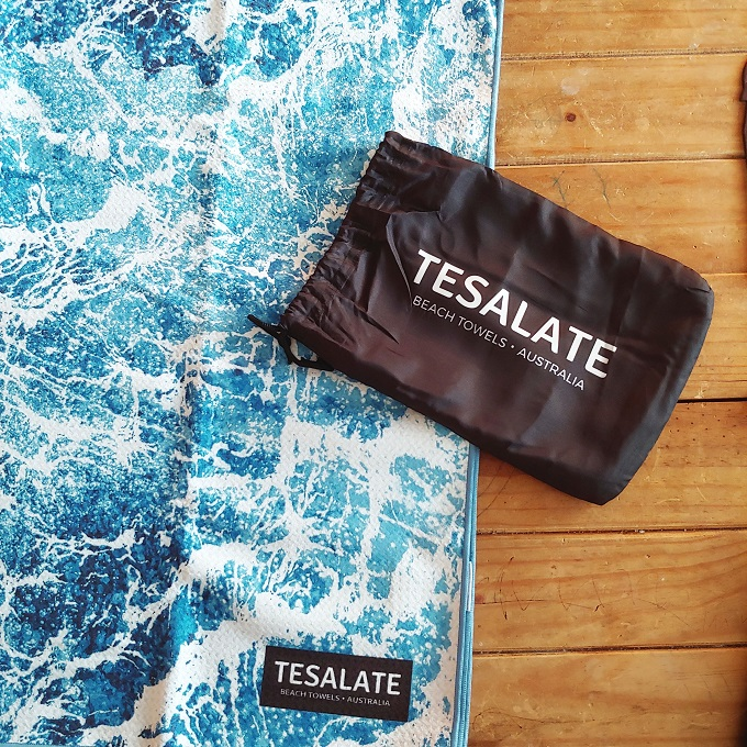 Tesalate Beach Towels Australia Giveaway via www.parentclub.ca