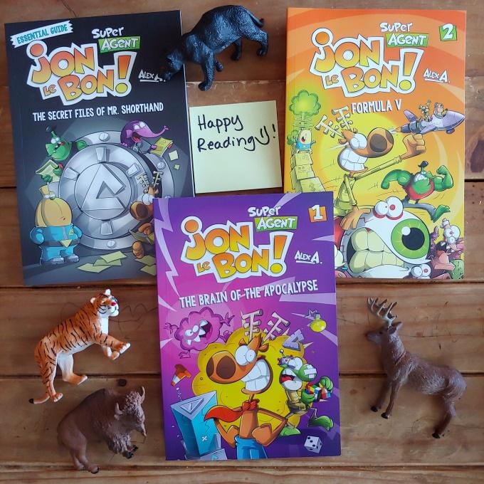 Holiday Gift Idea: Jon Le Bon Books + Giveaway via www.parentclub.ca