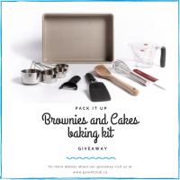PACK IT UP BAKING KIT GIVEAWAY