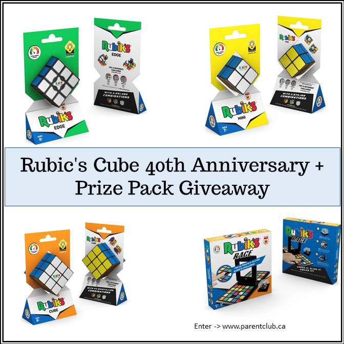 Rubic's Cube 40th Anniversary + Giveaway