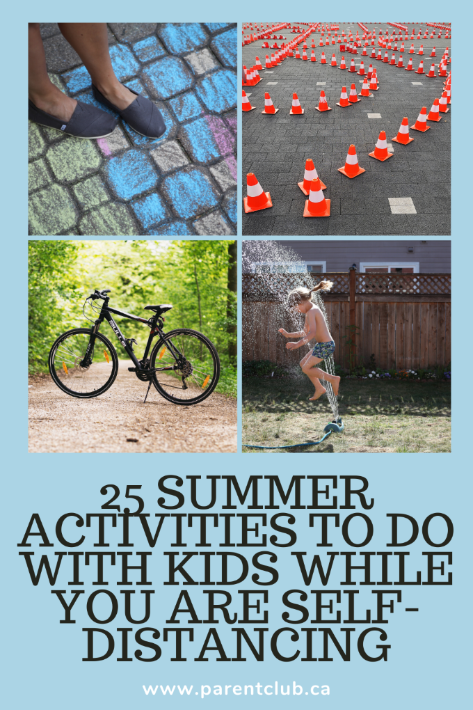 25 Summer Activities To Do With Kids While You Are Self-Distancing