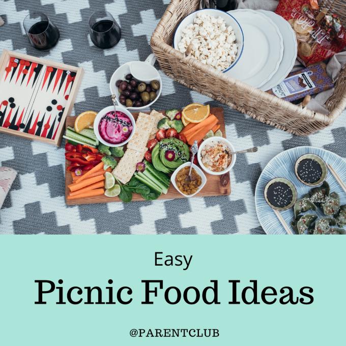 easy picnic food ideas via www.parentclub.ca, summer food, buffet ideas