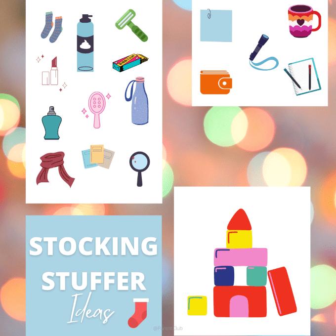 stocking stuffer ideas, stocking stuffers, christmas ideas, stocking fillers via www.parentclub.ca