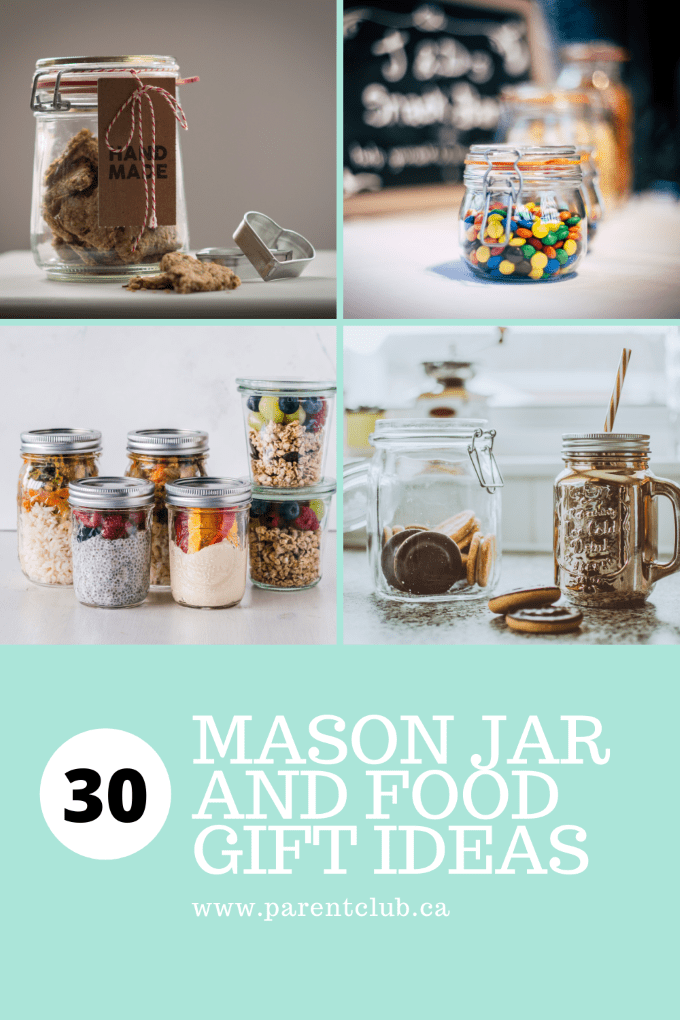 30 Mason Jar And Food Gift Ideas