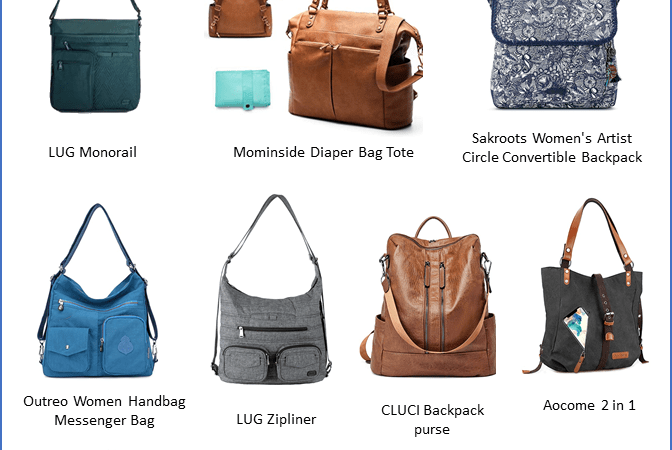 10 Convertible backpacks for mom life on amazon via www.parentclub.ca, style, bags, purses, lifestyle
