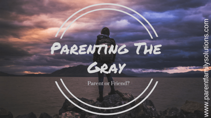 Parenting in the gray Parenting in Harrisburg, PA www.parentfamilysolutions.com