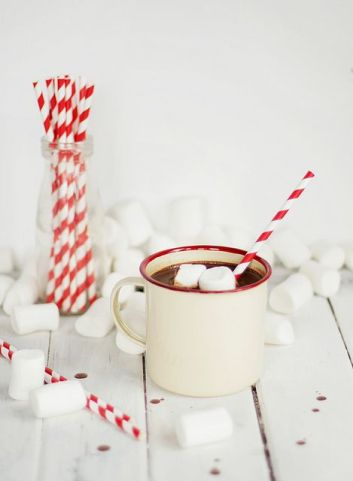 chocolat chaud noel marshmallow diy