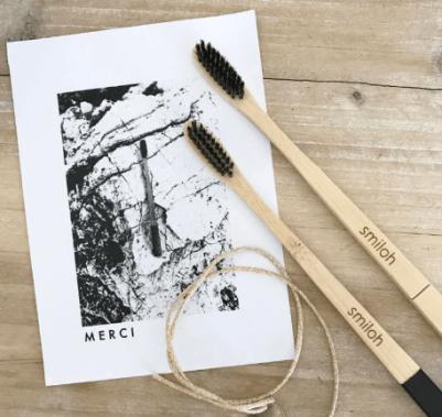 brosse à dents écologique en bambou