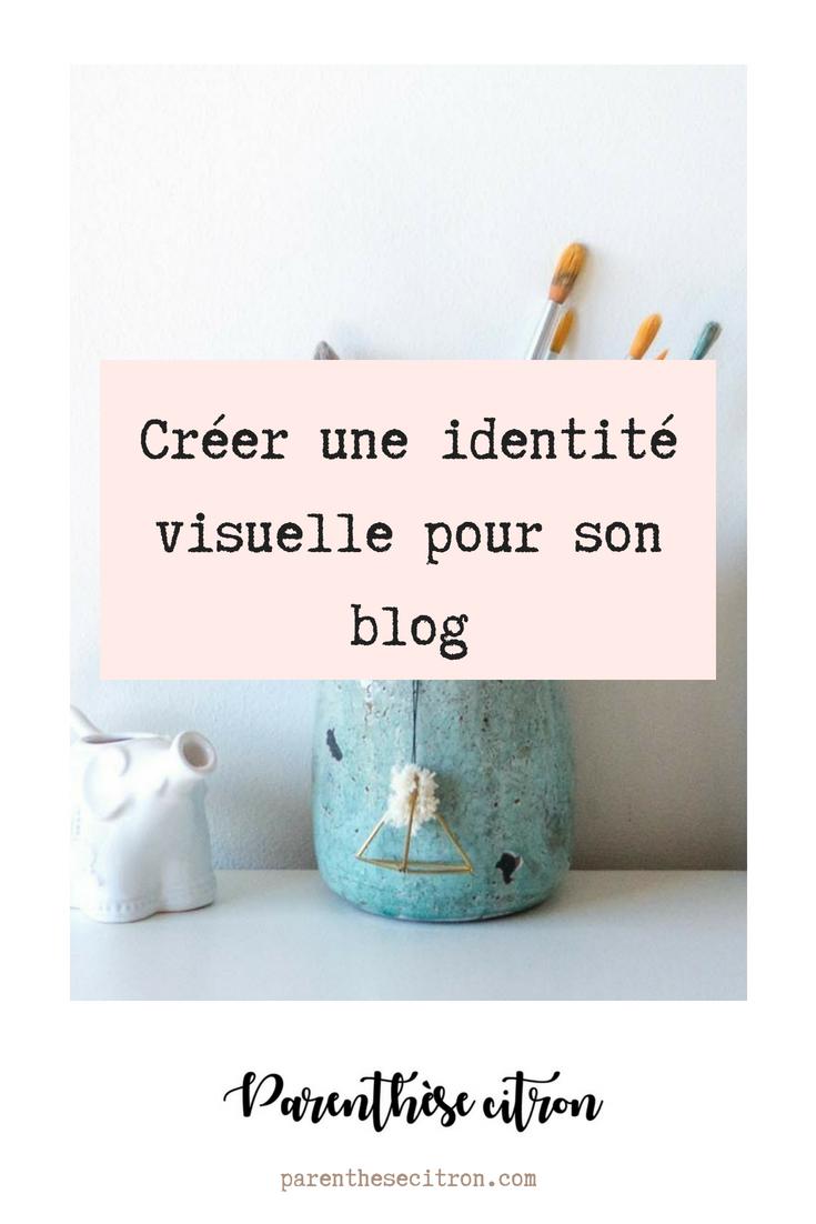 Créer une identité visuelle pour un blog