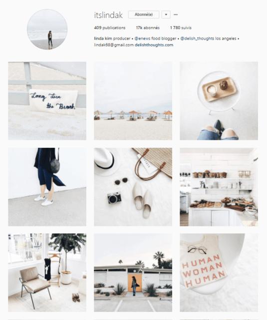 instagram feed harmonieux