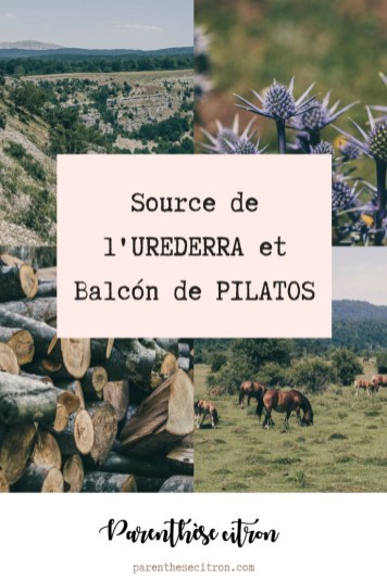 Source de l'Urederra et Balcón de Pilatos