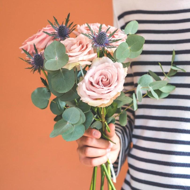 bouquet de fleurs écoresponsable