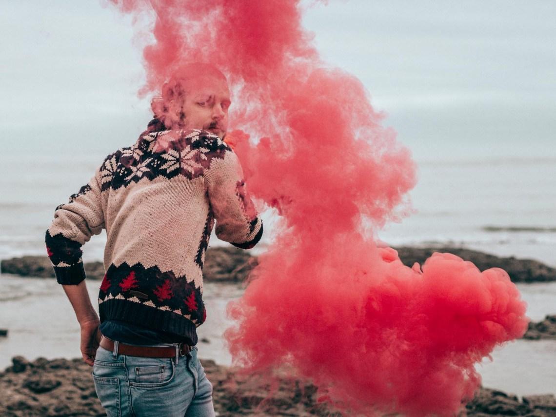 photographier avec des fumigènes
