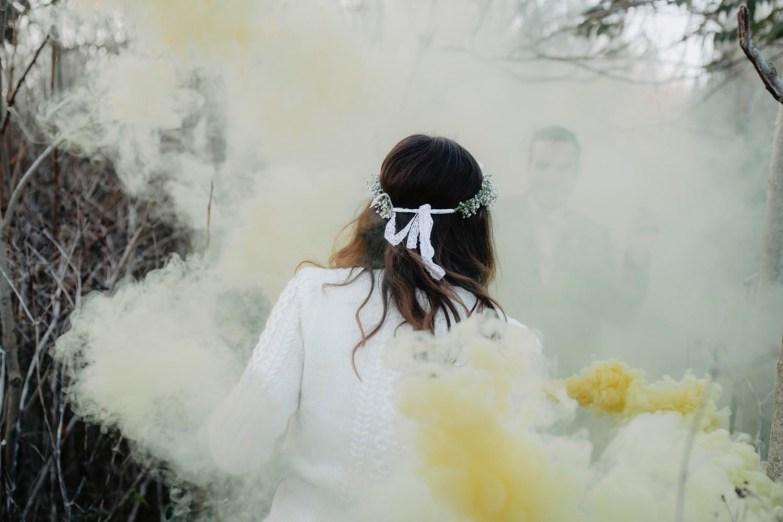 smoke grenades en photo