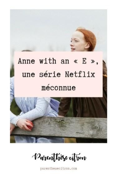 Anne with an « E », une série Netflix méconnue