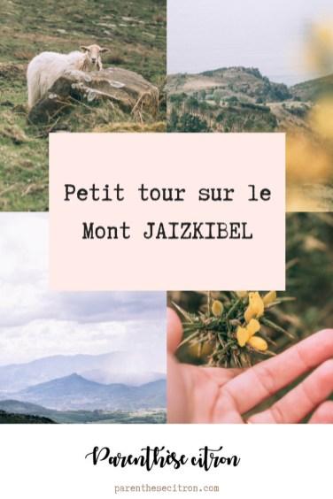 Petit tour sur le Mont Jaizkibel