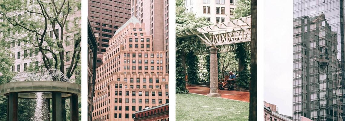 ma vie à boston - financial district