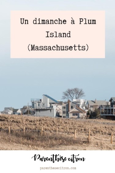 Un dimanche à Plum Island