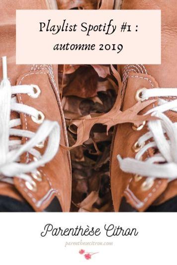playlist automne spotify