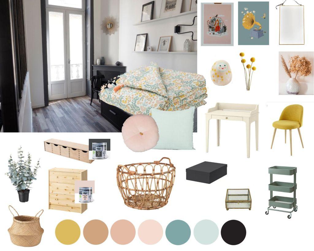 aménager appartement boho vintage (10)