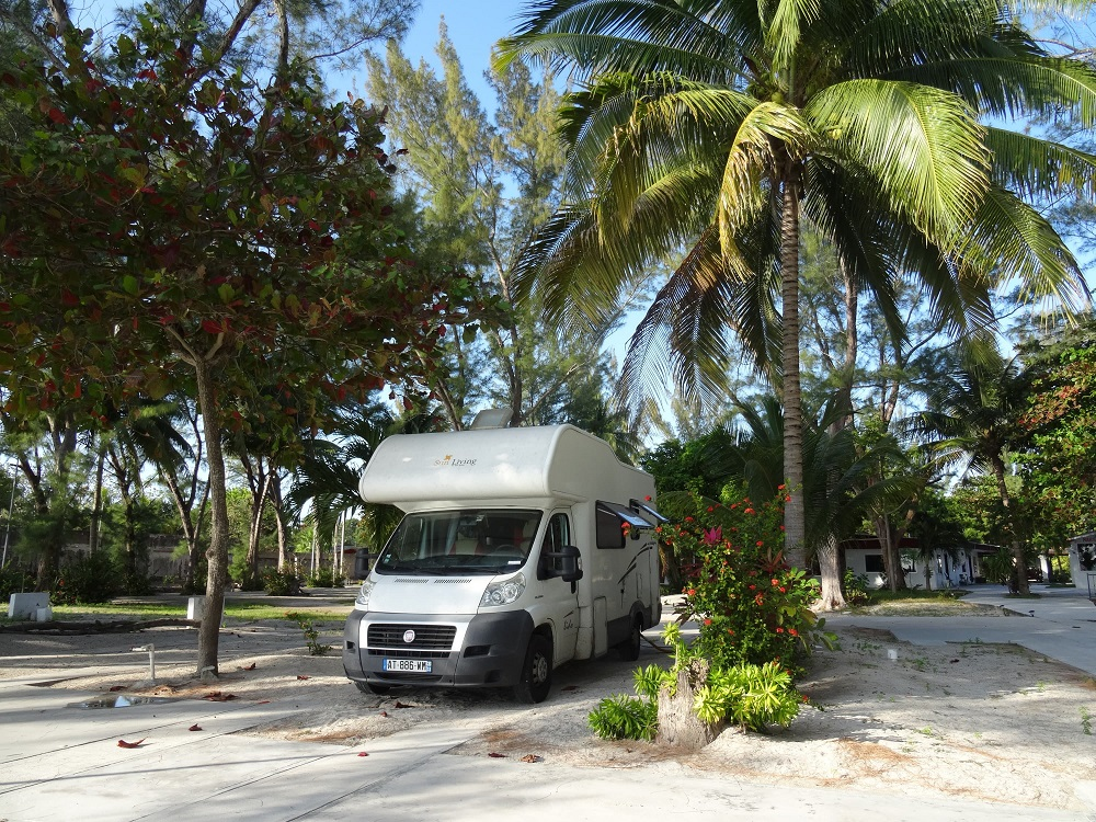 Camping au Mexique