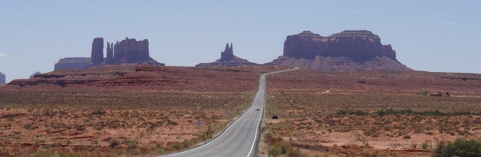Prendre la route dans l'Ouest américain