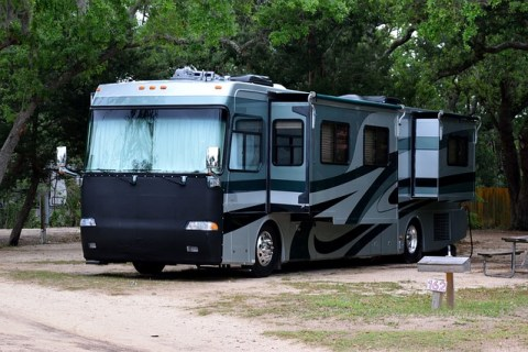 Camping-car américain format standard