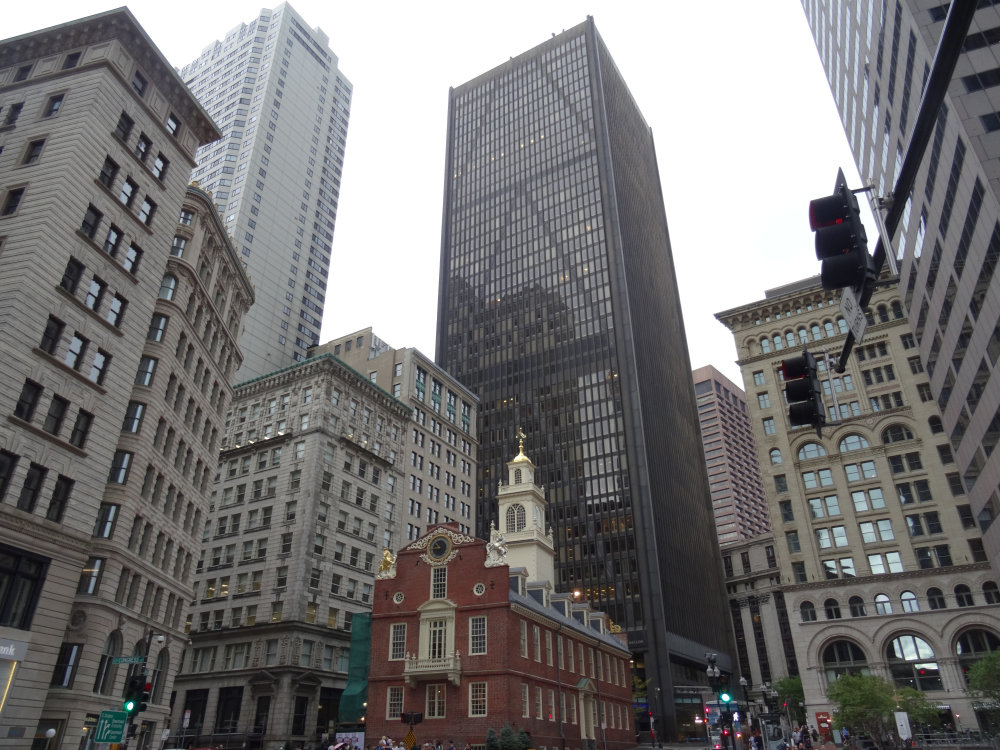 Boston, les buildings de downtown