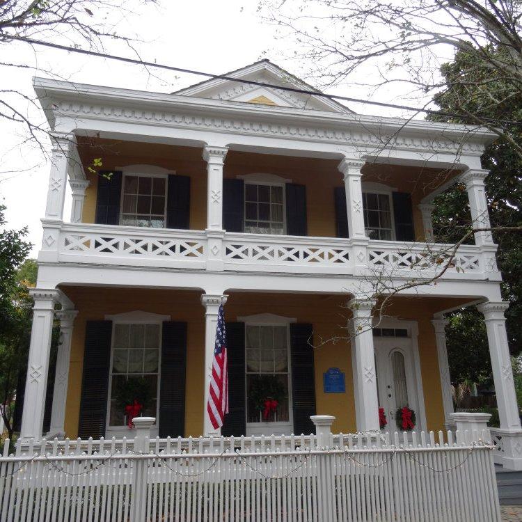 Le vieux Pensacola conserve de belles demeures en bois