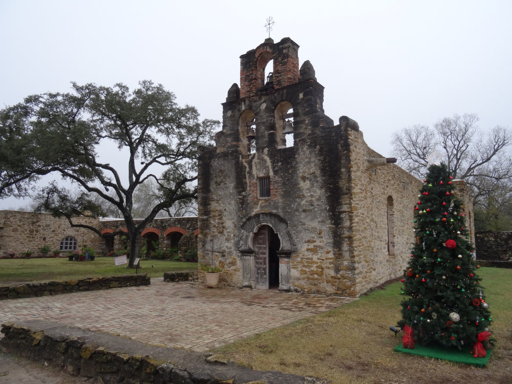 La Mission San Francisco à San Antonio