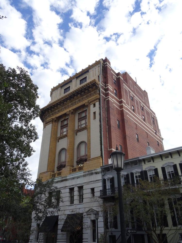 le centre historique de Savannah