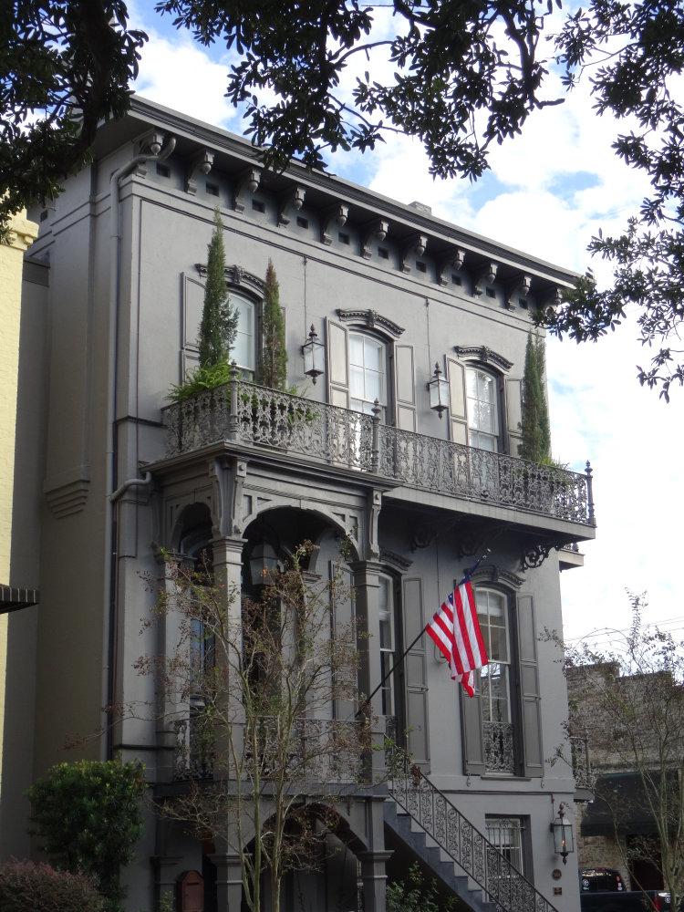 Une demeure Antebellum de Savannah