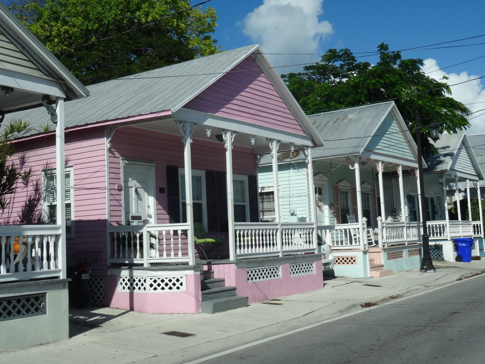 Bungalow coloré de Key West