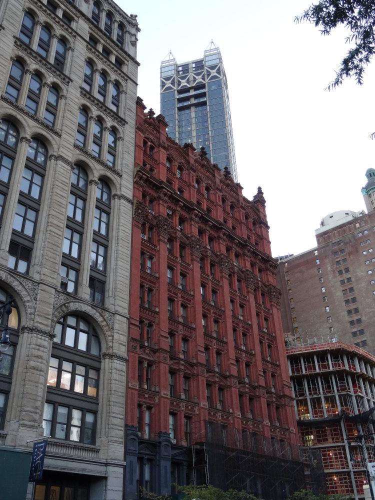 Les vieux immeubles du South Manhattan