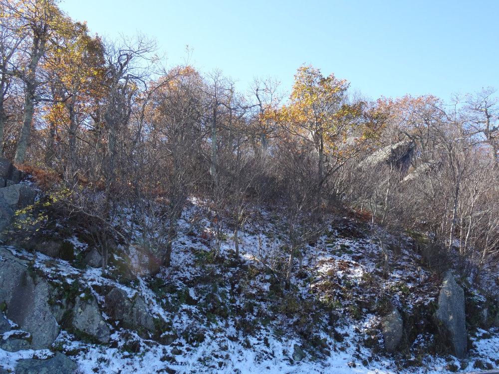 les premières neiges du voyage