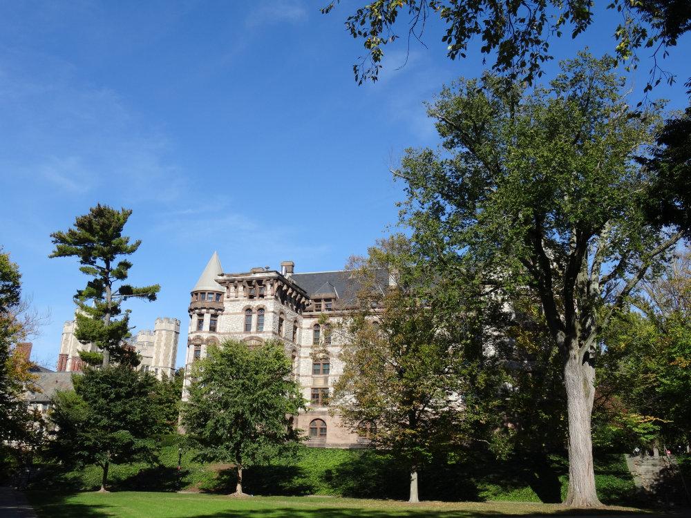 Un cadre bucolique sur le campus de Princeton